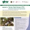 GFRAS NOTA SOBRE BOAS PRÁTICAS PARA OS SERVIÇOS DE EXTENSÃO E CONSULTIVOS - Escolas de Campo para Agricultores