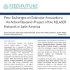 Peer Exchanges on Extension Innovations - An Action Research Project of the RELASER Network in Latin America