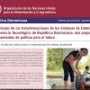 Aprendizajes de las transformaciones de los Sistemas de Extensión y Transferencia Tecnológica de República Dominicana: una propuesta de lineamientos de política para el futuro