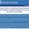 Nota de Políticas: Asistencia Técnica y Extensión Rural participativa en América Latina: principales hallazgos de los estudios de casos en cuatro países