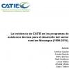 La incidencia de CATIE en los programas de asistencia técnica para el desarrollo del sector rural en Nicaragua 1999-2015