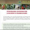 EXTENSIÓN RURAL CON ENFOQUE PARA  LA INCLUSIÓN Y EL DESARROLLO RURAL