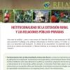 INSTITUCIONALIDAD DE LA EXTENSIÓN RURAL Y LAS RELACIONES PÚBLICO-PRIVADAS
